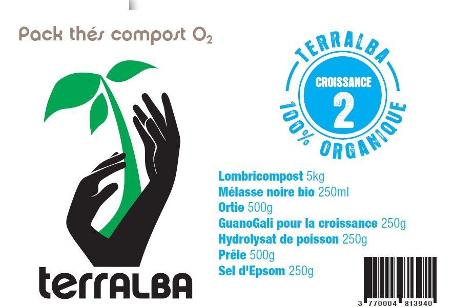 Packs complets pour faire vos propres thés de compost oxygénés