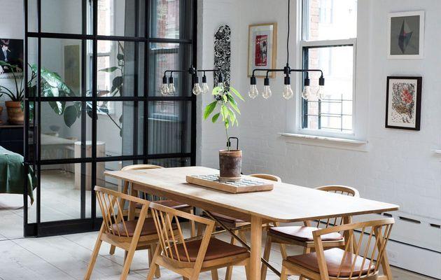 Minimalisme scandinave et design indus à l'américaine