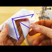 Sewing tips and tricks that make sewing much easier | sewing life hacks for beginners