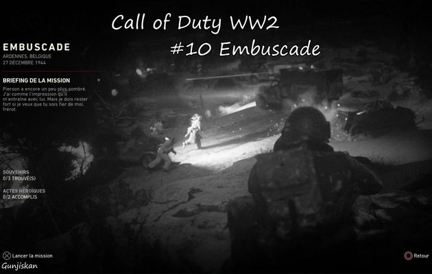 [Let's Play] Call Of Duty WW2 : Embuscade