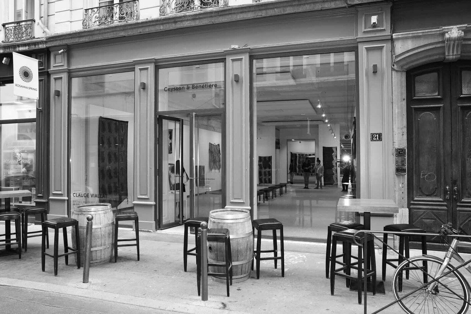 Galerie Ceysson & Bénétière Lyon. Exposition Claude Viallat