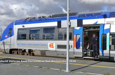Communiqué du collectif de défense des axes ferroviaires du Sud Normandie