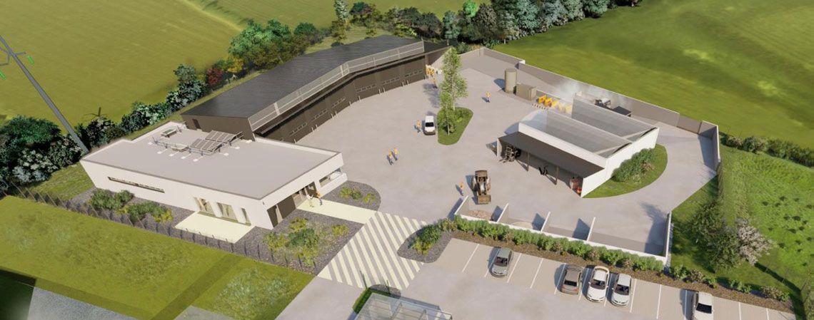 Construction du centre d'exploitation de Vire Normandie !