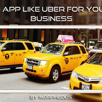 Morpheous Presents State of the Art Uber – Like Taxi App Development Services