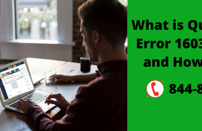What is QuickBooks Error 1603? Causes and How to fix it