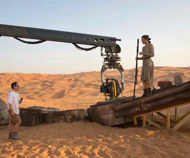 Tournage STAR WARS ? Preview.....