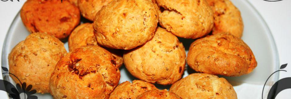 Cookies chorizo et sésame (thermomix)