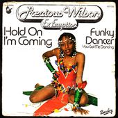 Precious Wilson - Hold on i'm coming / Funky dancer (you got me dancing) - 1979 - l'oreille cassée