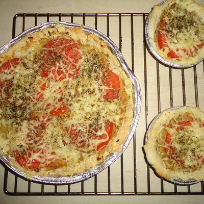 tarte oignon (pizza) rapide