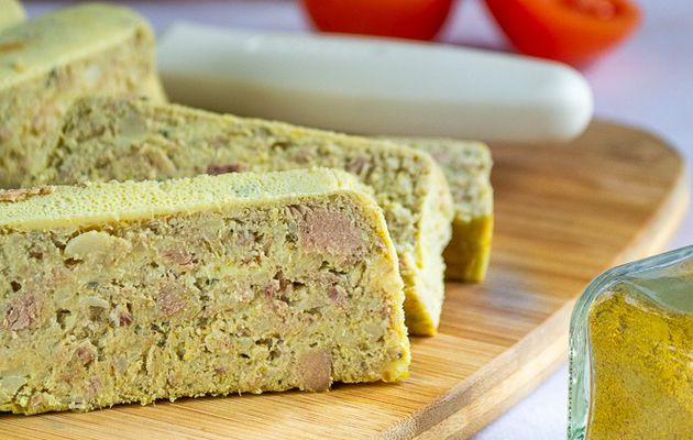 Terrine de thon au curry