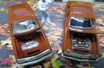 PEUGEOT 304 BERLINE MARRON NOREV 1/43.