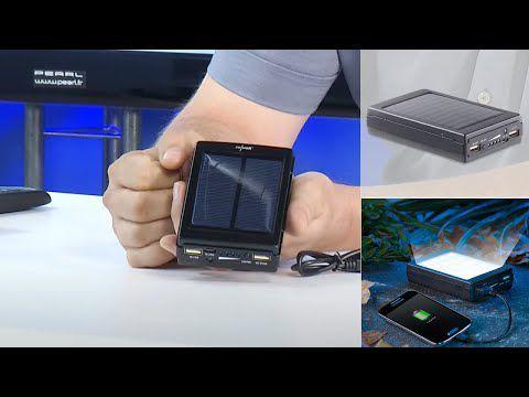 La mini batterie qui se recharge avec le soleil ! [Mes premières vidéos chez PEARL]
