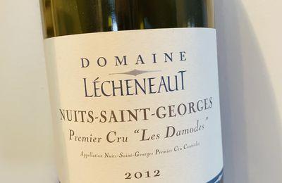 Nuits saint Georges 1er cru les Damodes 2012 Domaine Lecheneaut