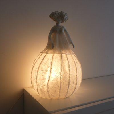 Lampe en papier
