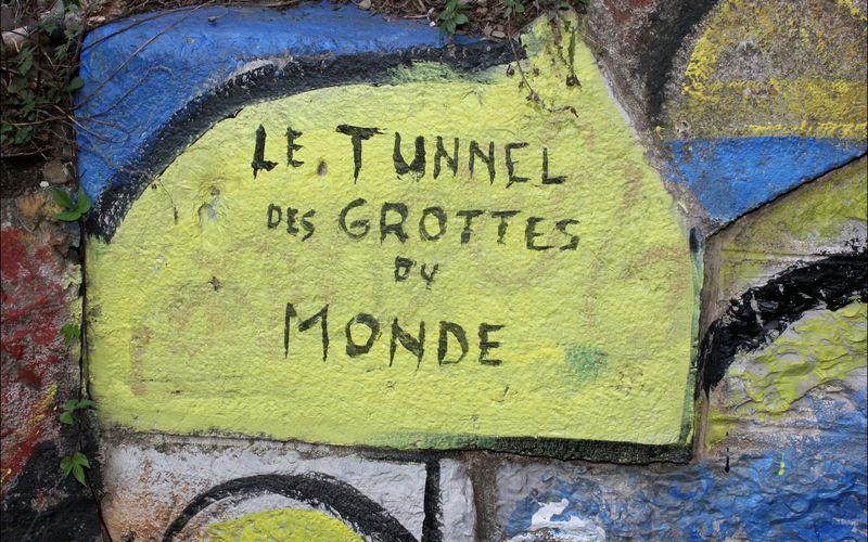 CERBÈRE (tunnel peint)