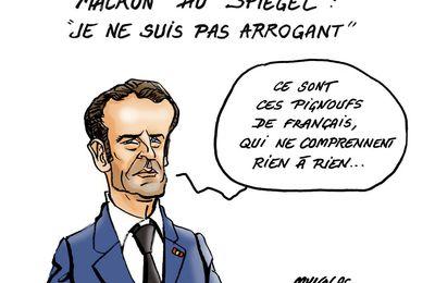 Pour qui donc Macron et sa bande  nous prennent-ils?