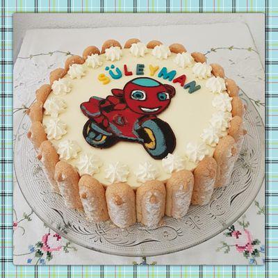 Gâteau  Ricky Zoom