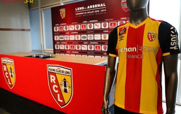 Sponsoring : Auchan et PMU, sponsors du Racing Club de Lens