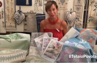Nuovi asciugapiatti Graziano e schemi della ''Maestra Silvana'' per il video di questa settimana
