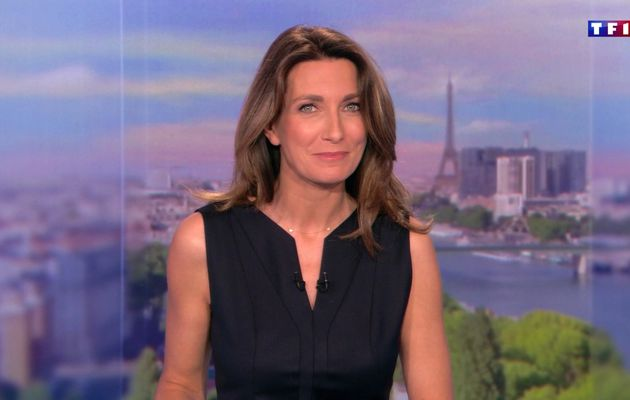 📸25 ANNE-CLAIRE COUDRAY @ACCoudray @TF1 @TF1LeJT pour LE 13H WEEK-END #vuesalatele