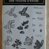 """Stampin Up Tampons """"Une touche d'encre"""" 