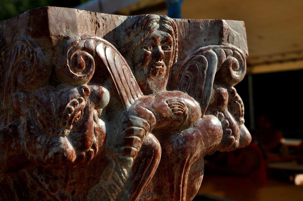 La sculpture sur pierre (3 photos)
