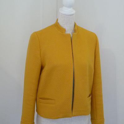 Yellow... Ma petite veste !