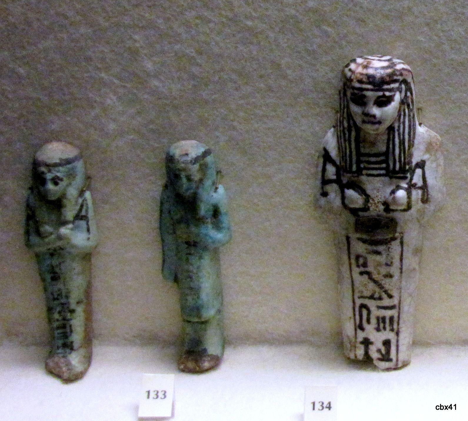 Les serviteurs funéraires, musée de Picardie