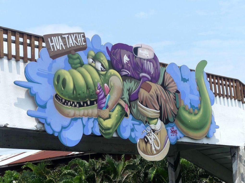 Street-art à Hua Takhe