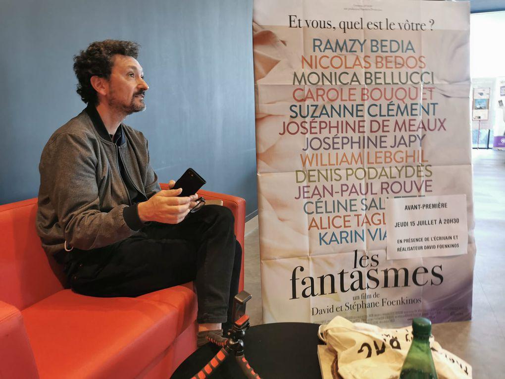 La fièvre Foenkinos sur les Clap's Cinés de Leucate et Canet! interview Stéphane et David Foenkinos par Nicolas Caudeville