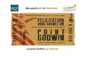 Le point Godwin sur Internet
