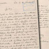 Lettre : complot de la franc-maçonnerie contre les monarchies