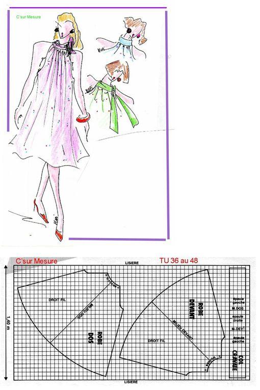 Book Figurines C'surMesure : pour Patrons, dessins technique et illustrations, de Mode !