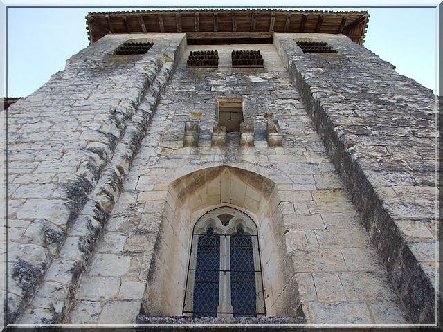 Diaporama église fortifiée de Chantérac