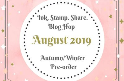 [Blog Hop] Ink Stamp Share August Blog Hop Autumn/winter Pre-order