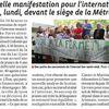 Nouvelle action pour le maintien de l'internat Favre à Lyon