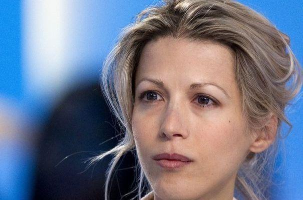 """Tristane Banon chroniqueuse dans l'émission """"Ca balance à Paris"""""""