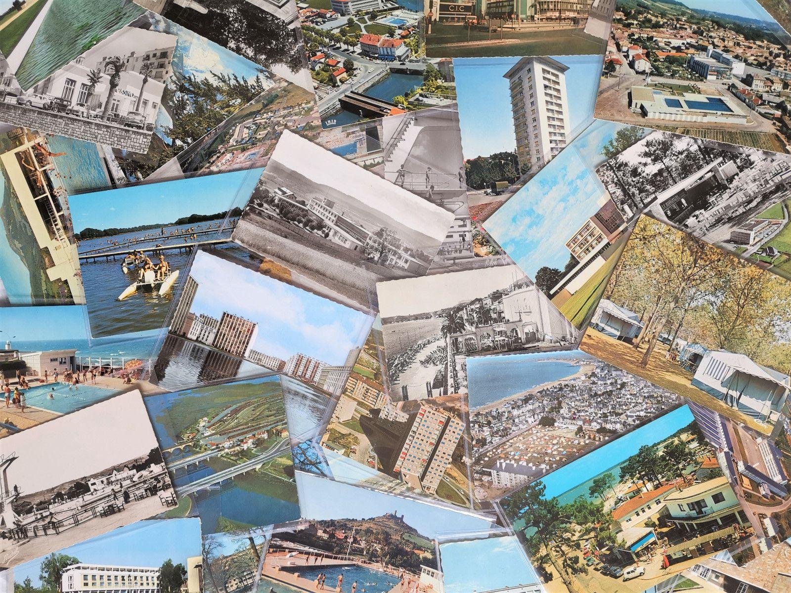 Parcours d'architecture, 2020, collection de cartes postales