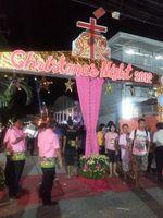 Mariewitthaya school fête Noël à Sisaket