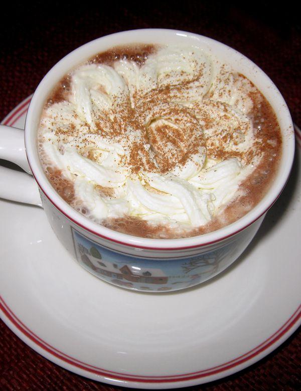 Chocolat chaud intense & ces sablés étoiles