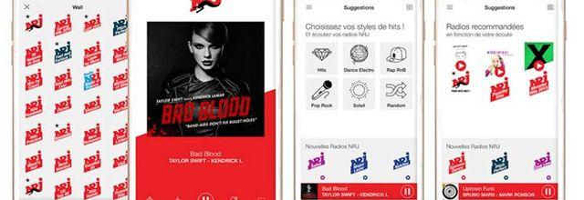 NRJ lance une nouvelle version de son application pour smartphones