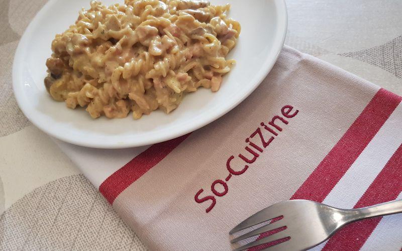 One Pot Pasta facon Carbonara revisite