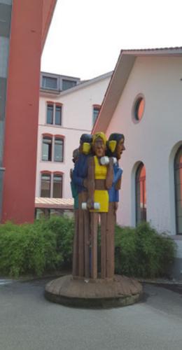 L'hôtel des enfants aux chutes du Rhin