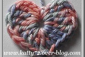 Tuto mini coeur au crochet