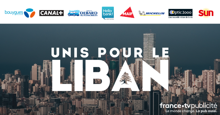 Un chiffre d'affaires publicitaire de 145 000 euros généré hier par FranceTV Publicité au profit du Liban.