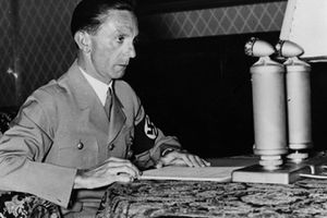 Deputy Goebbels Was in Command: Campaign Plan Was Drawn Up at Hitlerist Headquarters Office