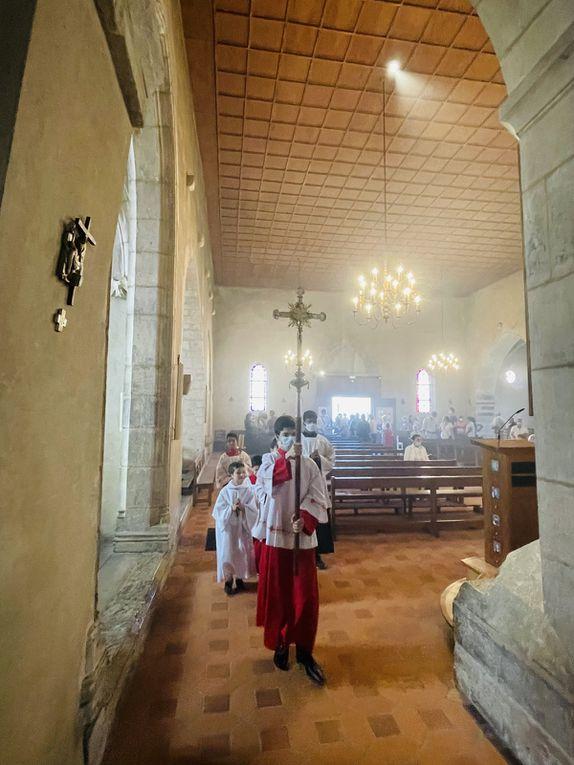 Sainte Messe solennelle de l'Assomption - 15 Aout 2021