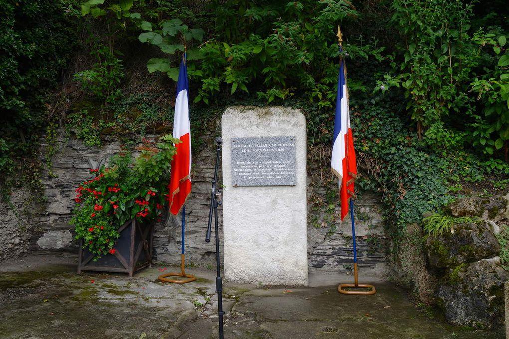 Le CHEYLAS se souvient : 73° commémoration de la tragique journée du 11 août 1944.