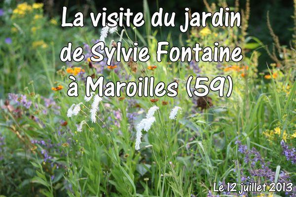 Visite du jardin de Sylvie Fontaine juillet 2013