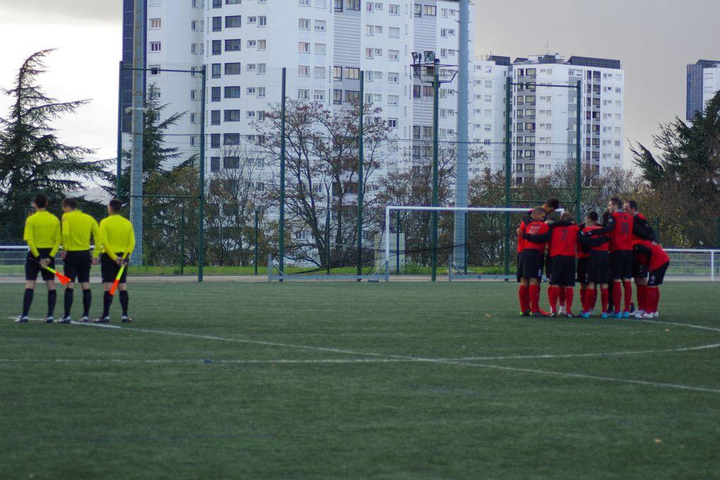 Dominés pendant plus de 60 minutes, les Vénissians se sont revoltés pour arracher le match nul